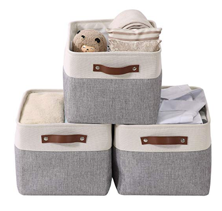 storage baskets for family command centre