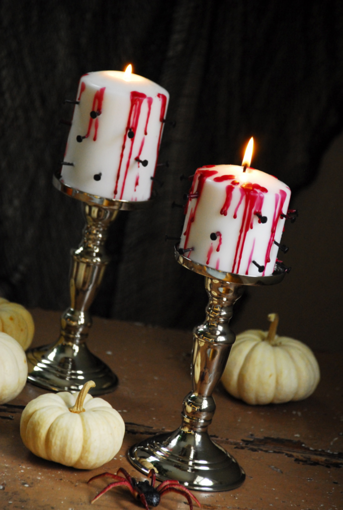 bloody candle stick
