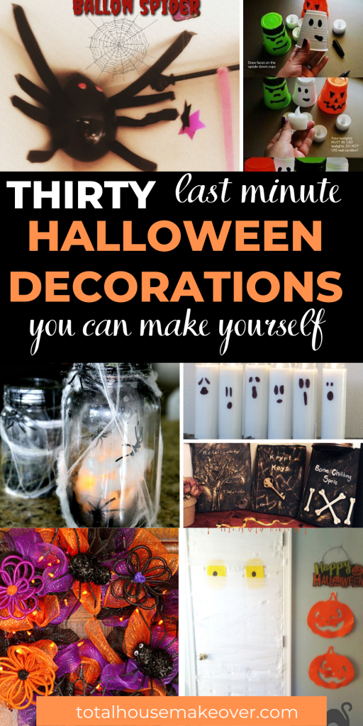 Are you ready for the halloween season? If so you must check out theses dollar store halloween decor DIY ideas that you can easily create on a budget. There is no need to waste time and money when you  find everything you need in one stop.  #halloweendecor #dollarstorefinds #halloweendecorationsDIY