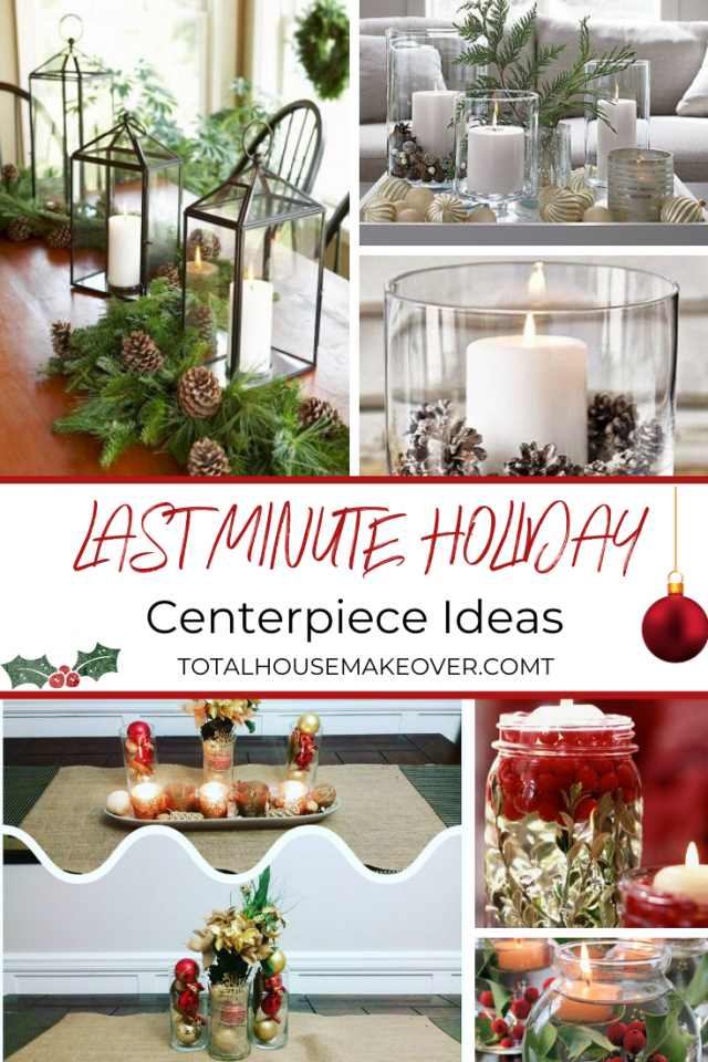 Want to create an amazingly beautiful holiday centerpiece for christmas but time is not on your side? Check out these beautiful and easy to do holiday centerpiece ideas that can be done at the last minute. Christmas Decor| Holiday Centerpiece ideas, Diy christmas decorations, Xmas Decor ideas #christmasdecor #xmas #holidaydecorations