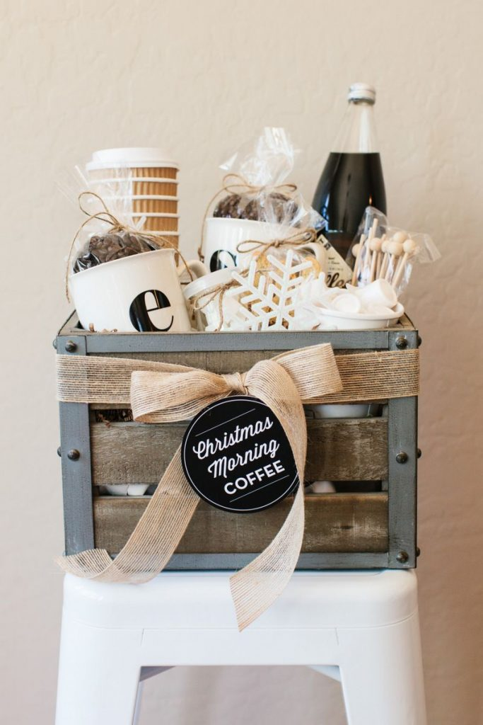 gift basket for coffee lover
