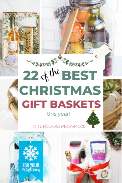 Its Christmas Time and Gifts are sometimes hard to find. Why look for the perfect gift when you can make it. Click through for 22 amazing and easy to do christmas gift basket ideas #christmasgift #giftsforher #giftforhim #giftforkids