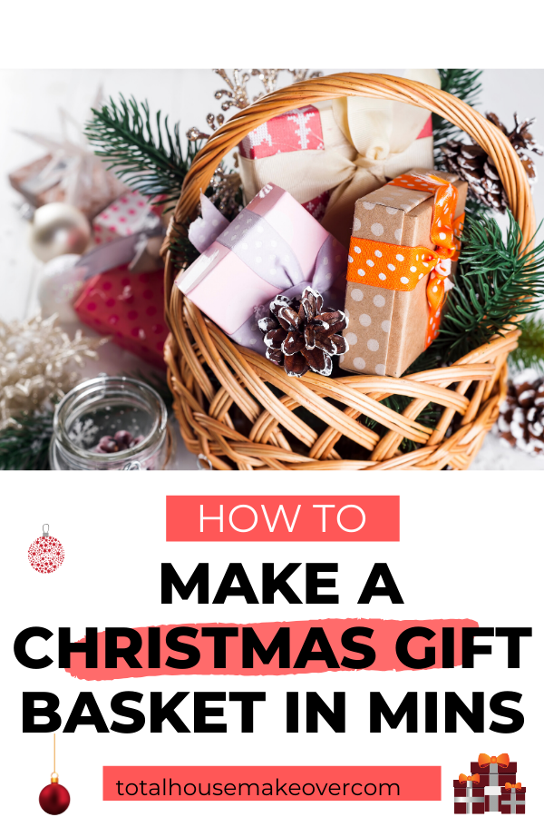 Personalizing gift are always the best option. Look no further for ideas. These DIY Christmas Gift Baskets Ideas are Quick so you don't have to take tons of time because you probably don't have it. Christmas Gift Basket Ideas| Gift ideas for women| Spa Gift Baskets, gift ideas for him #christmasgift #holidaygift #giftbasket