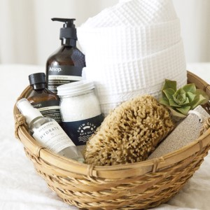 shower kit gift basket