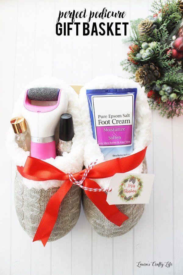 Perfect Pedicure Gift Basket Idea