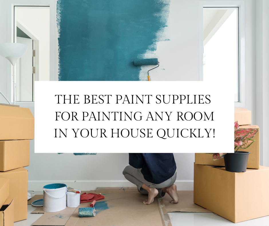 Paint your room like a pro with these wall paint supplies