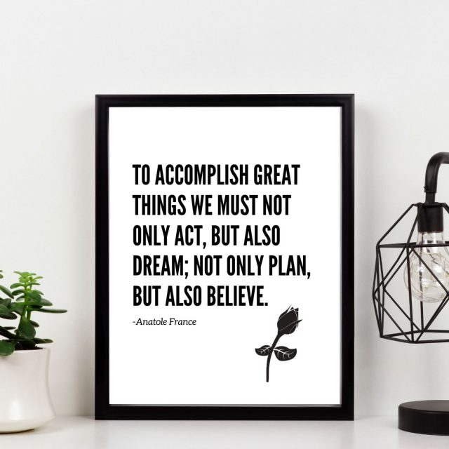 motivational printable wall art
