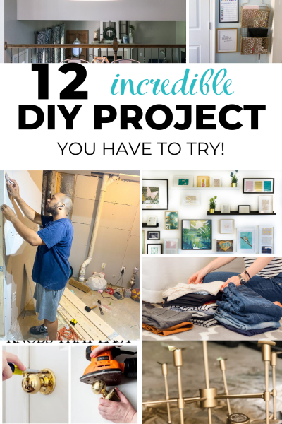Looking for simple diy remodeling ideas on a budget while stuck at home? These are projects that have been on your to do list for a very long time. Its time to check it off the list, diy projects for the home, diy projects to try #homediy #diyprojectforhome