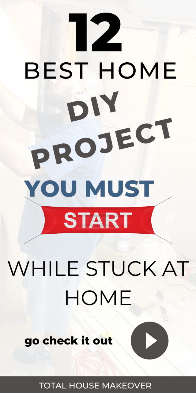 So you're stuck in the home and you don't know what to do. Why not complete those home projects that have been sitting on your todo list for a while. diy remodeling ideas, Home DIY projects, Things on my to do list, Home reno projects, simple upgrades at home